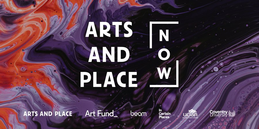 Arts and Place NOW banner