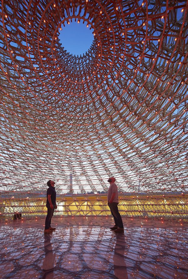 Wolfgang Buttress, The Hive. Photograph: Jeff Eden/RBG Kew. Courtesy of the artist.